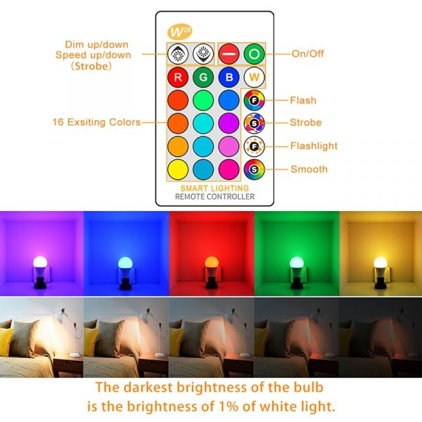 Remote Lighting Bulb