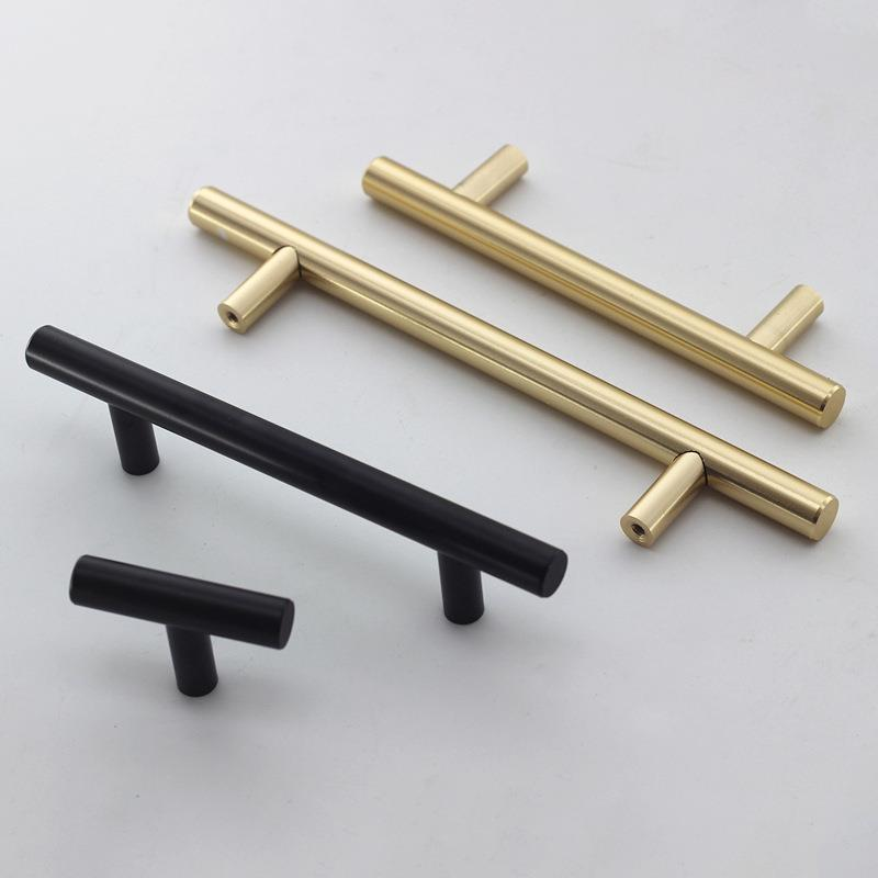 black n golden Kitchen Cupboard Handle
