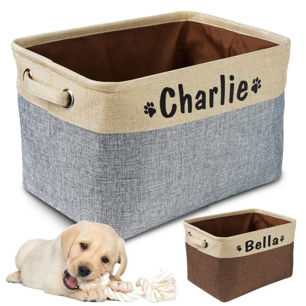 Dog Toy Bin